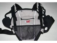 Bush baby front cocoon carrier in excellent condition - great to keep your hands free this summer
