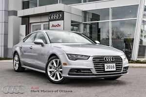 2016 Audi A7 3.0T Technik *Certified*