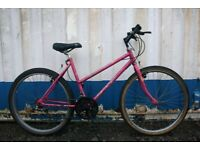 FREE DELIVERY Cheap Ladies Raleigh Spritz Town Bike 18 Inch Fully Serviced