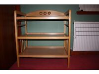 Wooden Mothercare change table