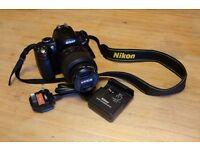 Nikon D5000 and 18-55VR lens.