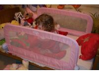 Infant Grow With Me Double Bedrail- Pink