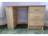 Argos Malibu three drawer desk