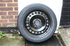 Vauxhall Insignia full size steel spare and tyre