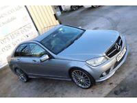 2009 MERCEDES-BENZ C CLASS 2.1 C220 CDI SPORT AUTO 168 BHP *NIGHT ED SPEC* (FINANCE & WARRANTY)