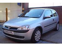 Vauxhall Corsa 1.0 i 12v Life 3dr CHEAP INSURANCE CHEAP TAX