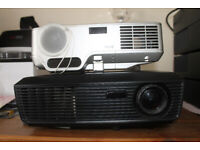 2 Projectors for sale Optoma DS211 + NEC NP40 including carry case, cables, remote control