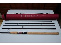 Abu Diplomat 11'6'' spinning rod never been used