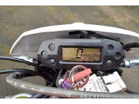 Rieju marathon pro 125cc (Spanish built using the same engine as the yamaha wr)