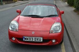 Toyota Mr2 2003 MK3 facelift. Number plate included. HPI clear 5 months MOT