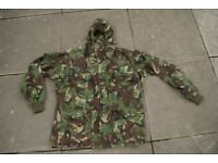 Custom Windproof DPM SAS Smock in Size Large (Heavy Cloth Fabric)