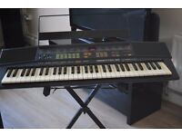 YAMAHA SR-38 KEYBOARD/STAND/MUSIC HOLDER