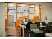 6 PERSONS PRIV FULL SERVICED OFFICE AT SHOREDITCH FOR £1900PM ALL INCLUSIVE ON E1 6PN