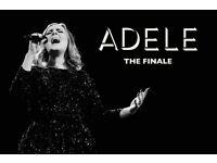 2x Adele pitch standing tickets, Wembley Stadium London, Sunday 2nd July 2017