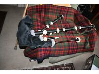 Old Blackwood Bagpipes