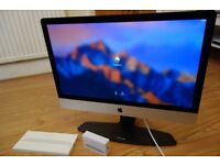 Mint condition Apple iMac 27 Inches, Intel Core i7, 32GB Brand New SEALED Magic Mouse and Keyboard