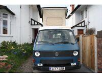 VW Camper van T25 Westfalia 1989 1.6 TD turbo diesel Transporter campervan