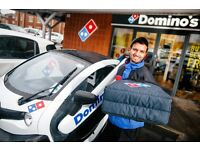 Domino's Pizza lincoln Full time and Part time Drivers £7.20 per hour + £mileage + £tips