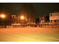 5-a-side football league in Marylebone