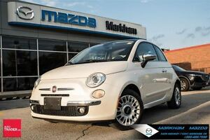 2013 Fiat 500 Lounge CLEAN CARPROOF LEATHER MOONROOF SPORTY 2 DO