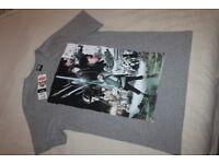 Star Wars The Last Jedi T-Shirt MENS SIZE M MEDIUM (GREY) BNWT (NEW WITH TAG)