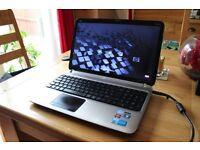 Hewlett-Packard Pavilion hp DV6 i7 Quad Core 8GB 500GB HDD Laptop Windows 7 x64 Ultimate Edition ***