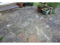 Natural stone paving - various shapes and sizes