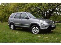 2005 HONDA CR-V 2.2 DIESEL CRV ** NEW MOT (NO ADVISORY)** 3 MONTHS WARRANTY *SUNROOF *BLUETOOTH