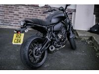 Yamaha XSR 700 Tech Black ABS Low milage (A2 Restricted)