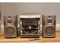 Bush CD / Radio / Dual Tape Hifi Stereo System