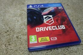 DriveClub For PS4 (Brand New)