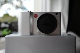 Leica T Camera Typ 701 T Aluminium Body Silver Complete with charger not black £500