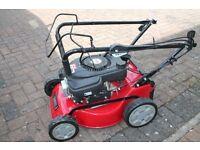 """sanli 17"""" self propelled petrol lawn mower"""