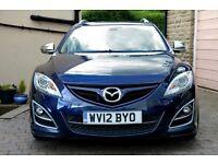 2012 Mazda 6 2.2D Sport Estate, fantastic handling, stylish, economical, huge boot
