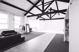 Studio hire Manchester. Photography and videography. Catwalk, photography studio
