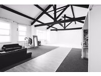 Studio hire Manchester. Photography and videography. Catwalk, set areas, lighting and 2 studios