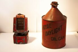 Vintage Parafin Oil Can and Heater