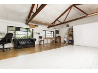 Studio Space - Shooting + Desk - Available to Share with 2 Photographers