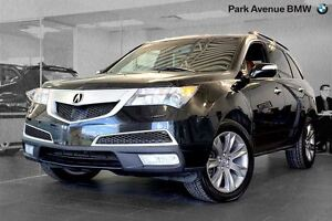 2011 Acura MDX Elite Package + DVD + 7 passagers
