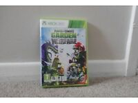 Xbox 360 Plants vs Zombies: Garden Warfare Game