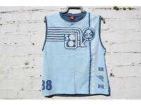 Saltrock XL Boys / Man's or Ladies Light Blue Vest Top C40""