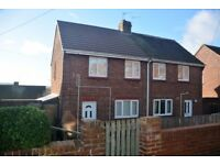 2 Bedroom Semi Detached House In Lanchester, South Facing Garden, £450 P.C.M. Available Before Xmas.