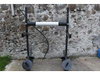 Strength shop training station / strongman yoke