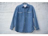 "Cotts-wood? Men's or Ladies Denim Long Sleeve Shirt C50"" & N17"""