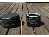 2X converter lens