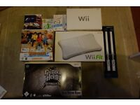 Wii Fit with games and accessories
