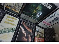 ORIGINAL VINTAGE FILM POSTERS - FOR YOUR DEN / MAN CAVE - nintendo sega