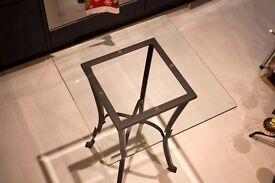 Marks & Spencer - Indoor / Outdoor glass table