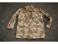 New - British Army Issue (desert pattern) Goretex Jacket in Size XL