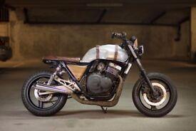 Cb400sf Scrambler Cafe Racer Bobber Custom Motorbike Pro build